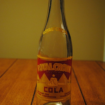 1936 Royal Crown Cola Bottle - Bottles