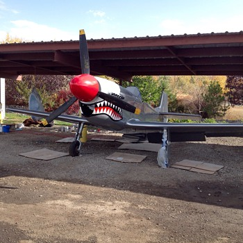 P-51 Progress - Military and Wartime