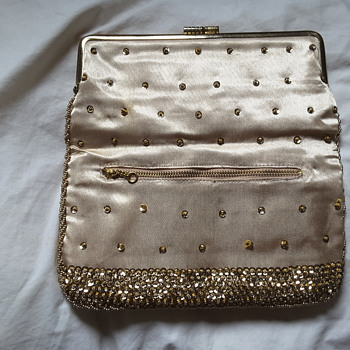 One of 2 of my grandma's sequine clutch - Bags