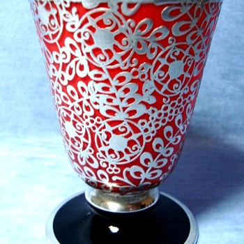 OVERLAY TANGO GLASS TUMBLERS - Art Glass