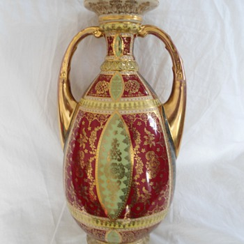 Royal Vienna Vase - Art Pottery