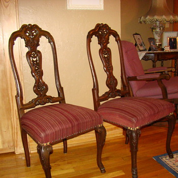 New chairs - Furniture
