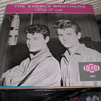 THE EVERLY BROTHERS RIP IT UP ACE RECORD LABEL CH64 - Records