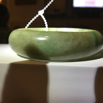 Little Jade bangle