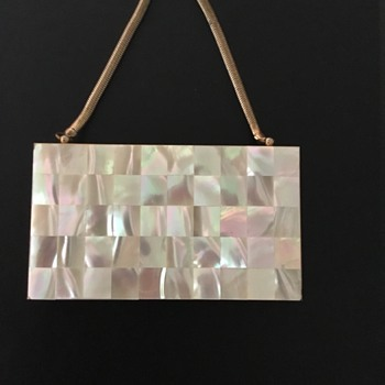 Mother of Pearl Clutch/Pocketbook