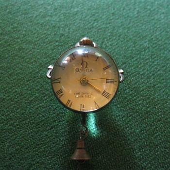 Omega glass ball watch 1882
