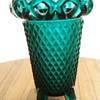 Green glass vase?