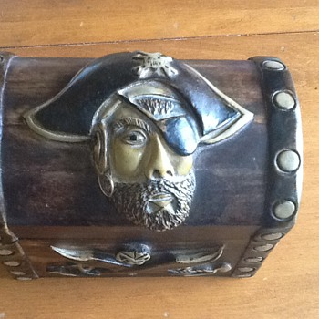 Wooden Pirate Treasure Chest - Handmade