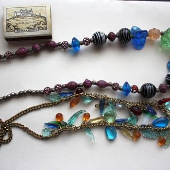 Vintage venetian glass necklaces - Costume Jewelry