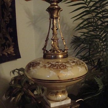 Heavy ornate lamp - that I love! - Lamps