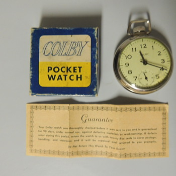 REXALL POCKET WATCH - Pocket Watches