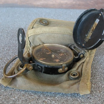 Early WWII Compass, Lensatic circa 1939  - Military and Wartime