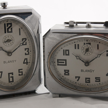 Blangy's moost famous models from 1937 - Clocks