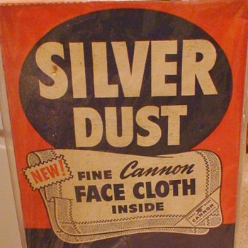 Silver Dust By Lever Brothers - Advertising