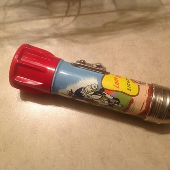 1950s Lone Ranger flashlight Signal Siren