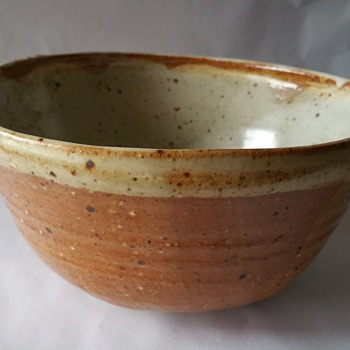 Could this be Maurice Grossman??? Studio Pottery Bowl