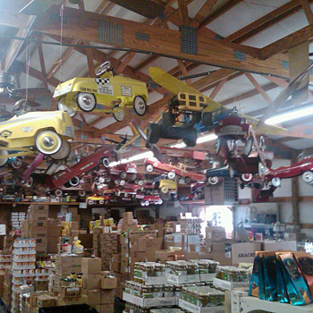 Pedal car heaven
