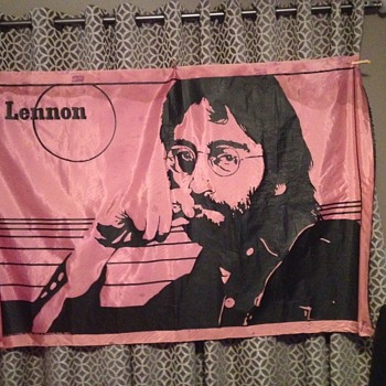 John Lennon silk screen - Music