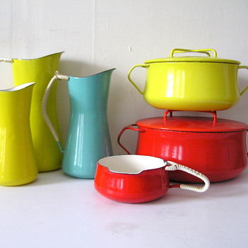 Dansk Kobenstyle Enamel Collection