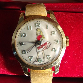 "1964 Bradley ""Skipper"" Wrist Watch - Wristwatches"