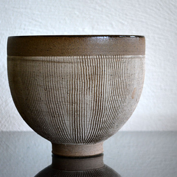Edwin and Mary Scheier studio pottery bowl - Art Pottery