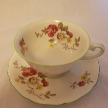 Royal York Tea Cup and Saucer Set - China and Dinnerware