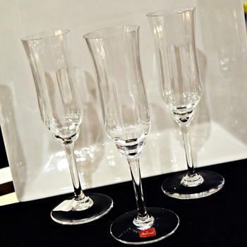 Baccarat Champagne Flutes  - Glassware