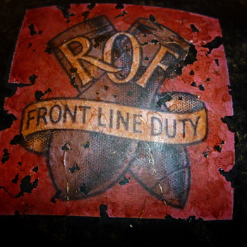 British Royal Ordnance Factories Decal