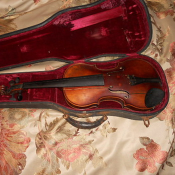 Signed John Juzek Violin - Guitars