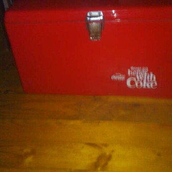 coke-cola cooler - Coca-Cola