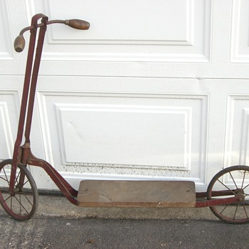 Vintage Scooter - Outdoor Sports