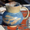 Small Pitcher [creamer?] handmade and signed but...