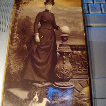Cabinet Card - Ready for the Hunt!