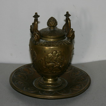 Inkwell, French, circa 1800-1850