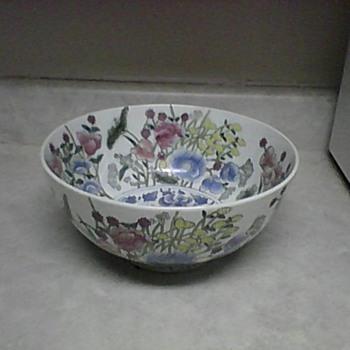 ASIAN FLORAL BOWL - Asian