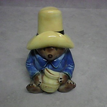 PADDINGTON BEAR MARMALADE JAR - Art Pottery