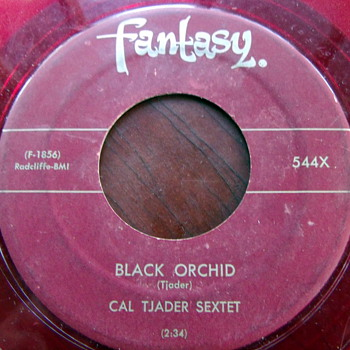 "Cal Tjader Sextet ""Afro Blue"" and ""Black Orchid"" 45rpm"