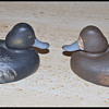 antique decoy pair