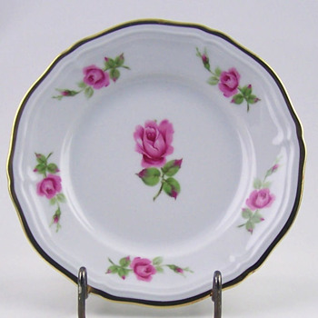 Chippendale Rose China by Johann Haviland, Bavaria, Germany