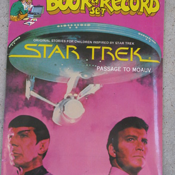 Unopened Star Trek Book and Record Set by Peter Pan Records. - Records