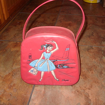 1960s pony tail travel bag