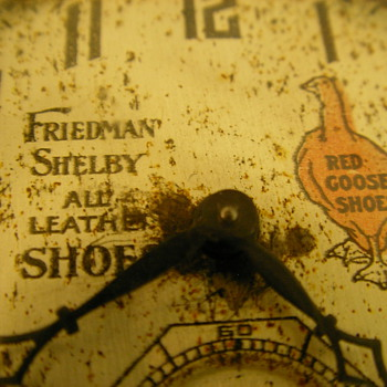1927 Red Goose & Friedman Shelby Pocket Watch