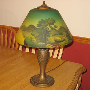 Antique lamp-unidentified