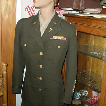 My Aunts Nurse Corps Uniform