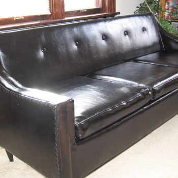 leather sofa - Furniture