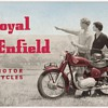1955 Royal Enfield Motorcycles Product Line