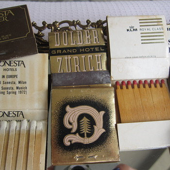 Old Wooden Matches - Tobacciana
