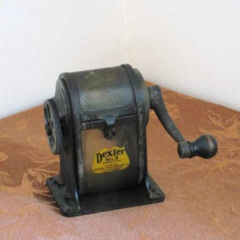 1920's Dexter #3 Pencil Sharpener - Office