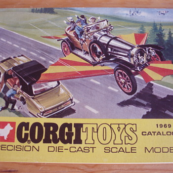 CORGI TOYS 1969 CATALOGUE  - Toys