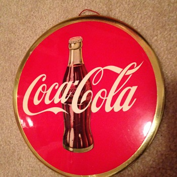 Coca-Cola Celluloid from the 50's - Coca-Cola